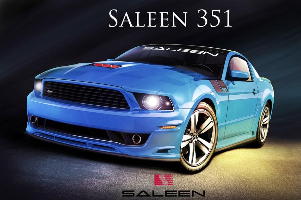 2013 Saleen Mustang S351