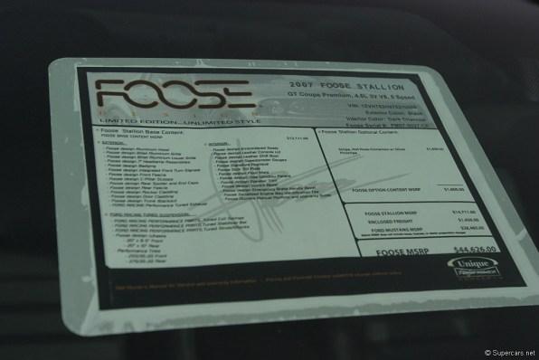 2005 Foose Stallion