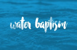 [FREE] Get Your Water Baptism Lesson