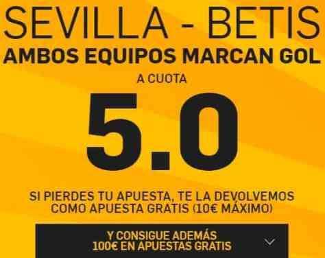 Supercuota betfair Sevilla - Betis