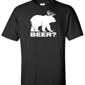 bear deer black
