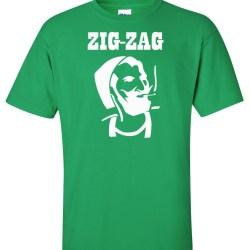 zig-zag green