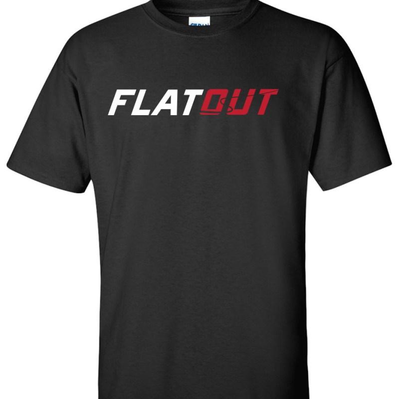 Flatout custom order logo graphic t shirt http www for Ordering custom t shirts