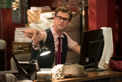 Chris Hemsworth ghostbusters
