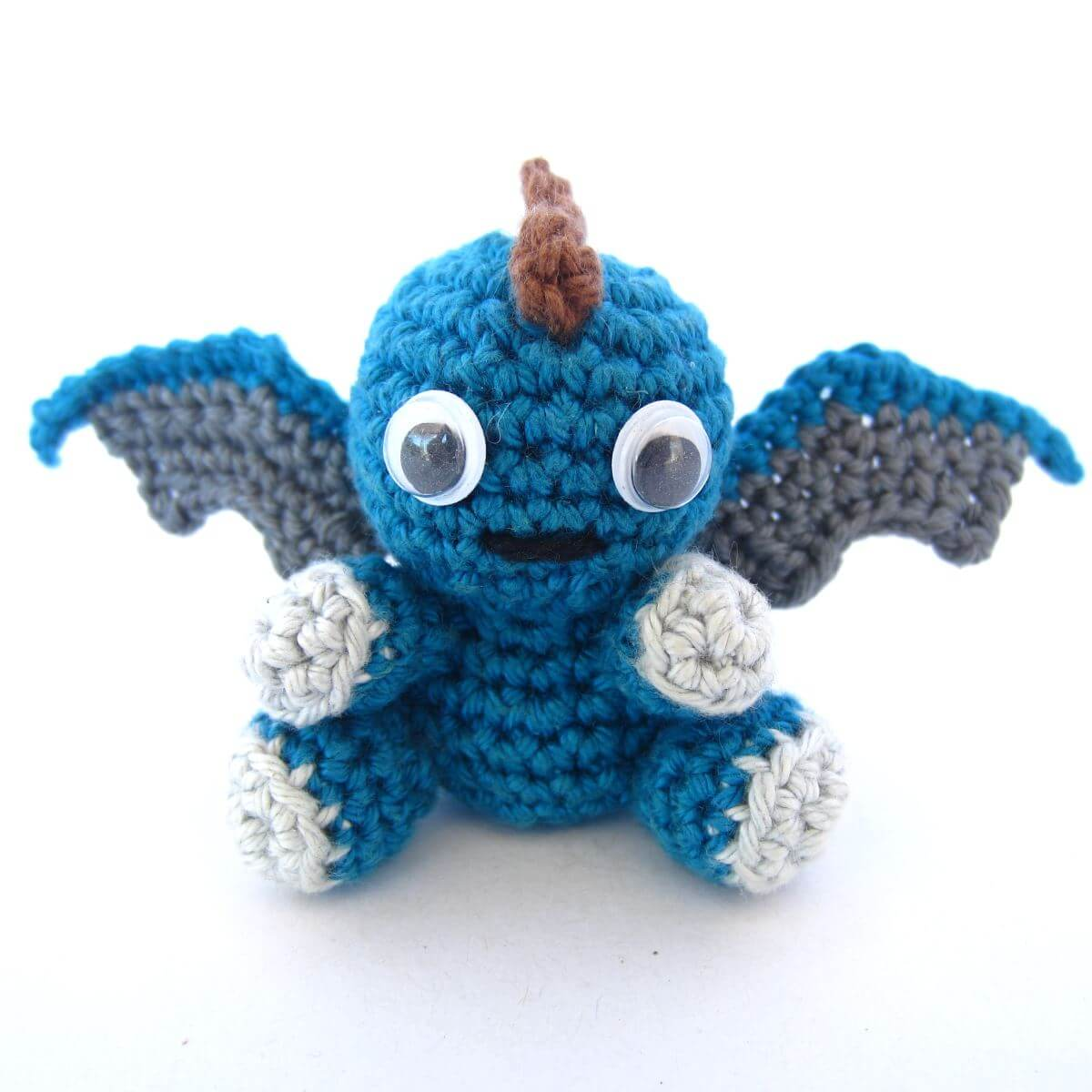 Dragon Azul Amigurumi : Amigurumi Patterns Archives - Supergurumi