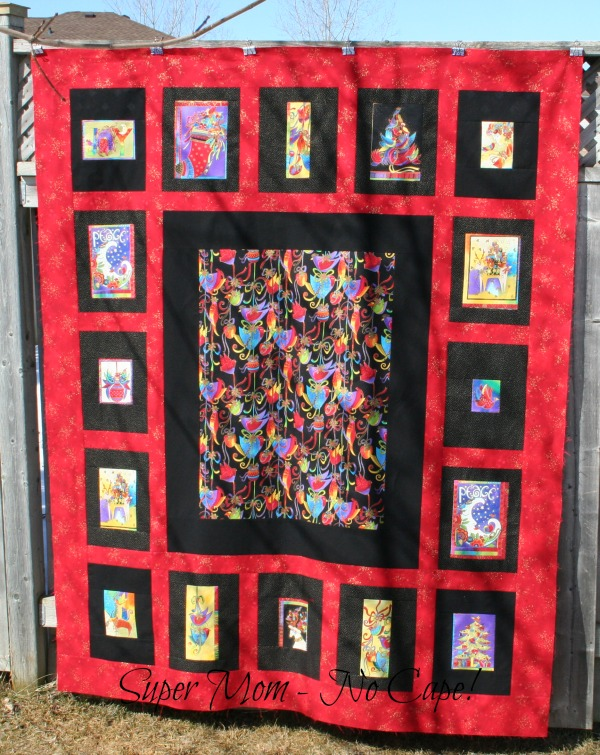 Holiday Celebrations Snuggle Quilt