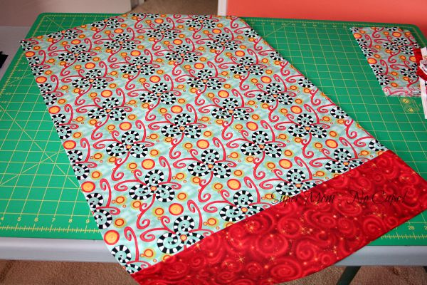 Pillowcase for donation to Cases for Smiles