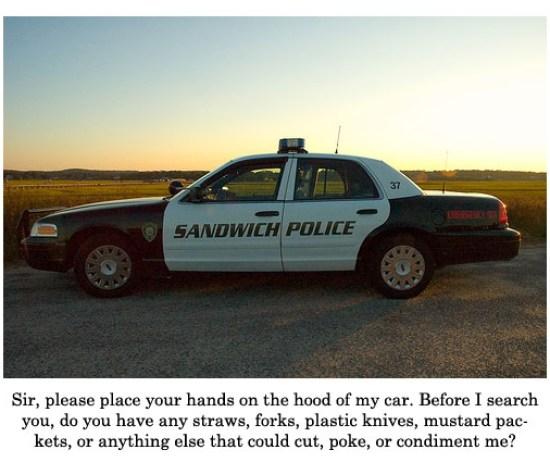sandwich police Deluxe Breakfast Sandwich