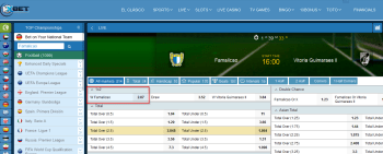Famalicao @ 1xBet Bookmaker