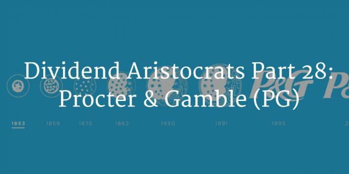 Procter & Gamble Dividend Aristocrats