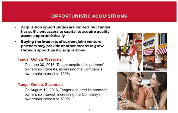 SKT Opportunistic Acquisitions