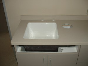 New Sink Countertop Adjustment Surface Link After