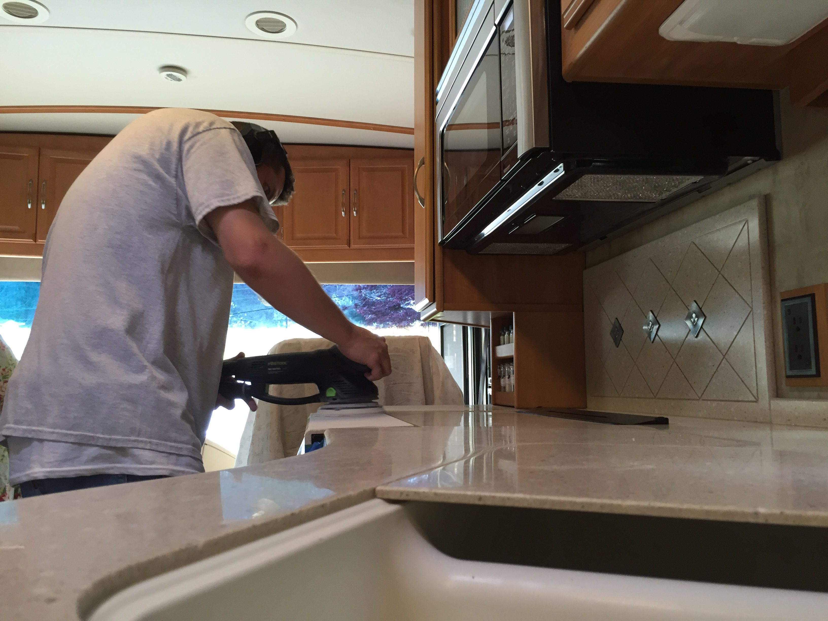 rv countertop repair and watermist refinish surface link