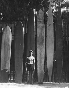 Jack London Surfing