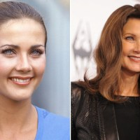 lynda carter Plastic Surgery Before After, Breast Implants