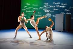 featuring (L to R) Zachary Kapeluck, Andrea Yorita, Richard Villaverde > choreography by Annabelle Lopez Ochoa > photo by Alexander Iziliaev