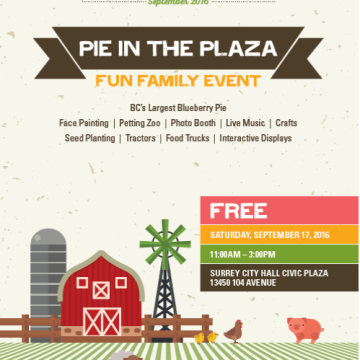pie in the plaza
