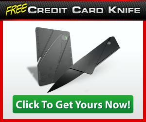 Credit Card Knife