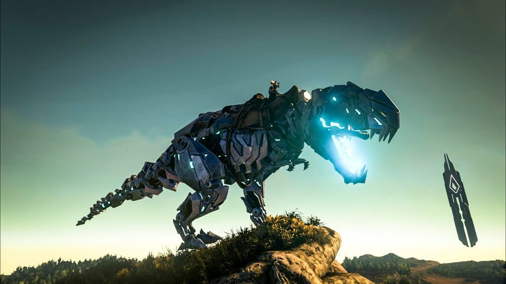 Bionic rex skin on xbox one survive ark ark bionic rex skin malvernweather Images