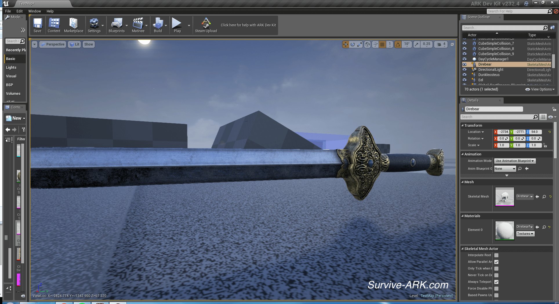 Devkit preview direbear giant eel colored dunkleostus and a new chinese sword2 malvernweather Gallery