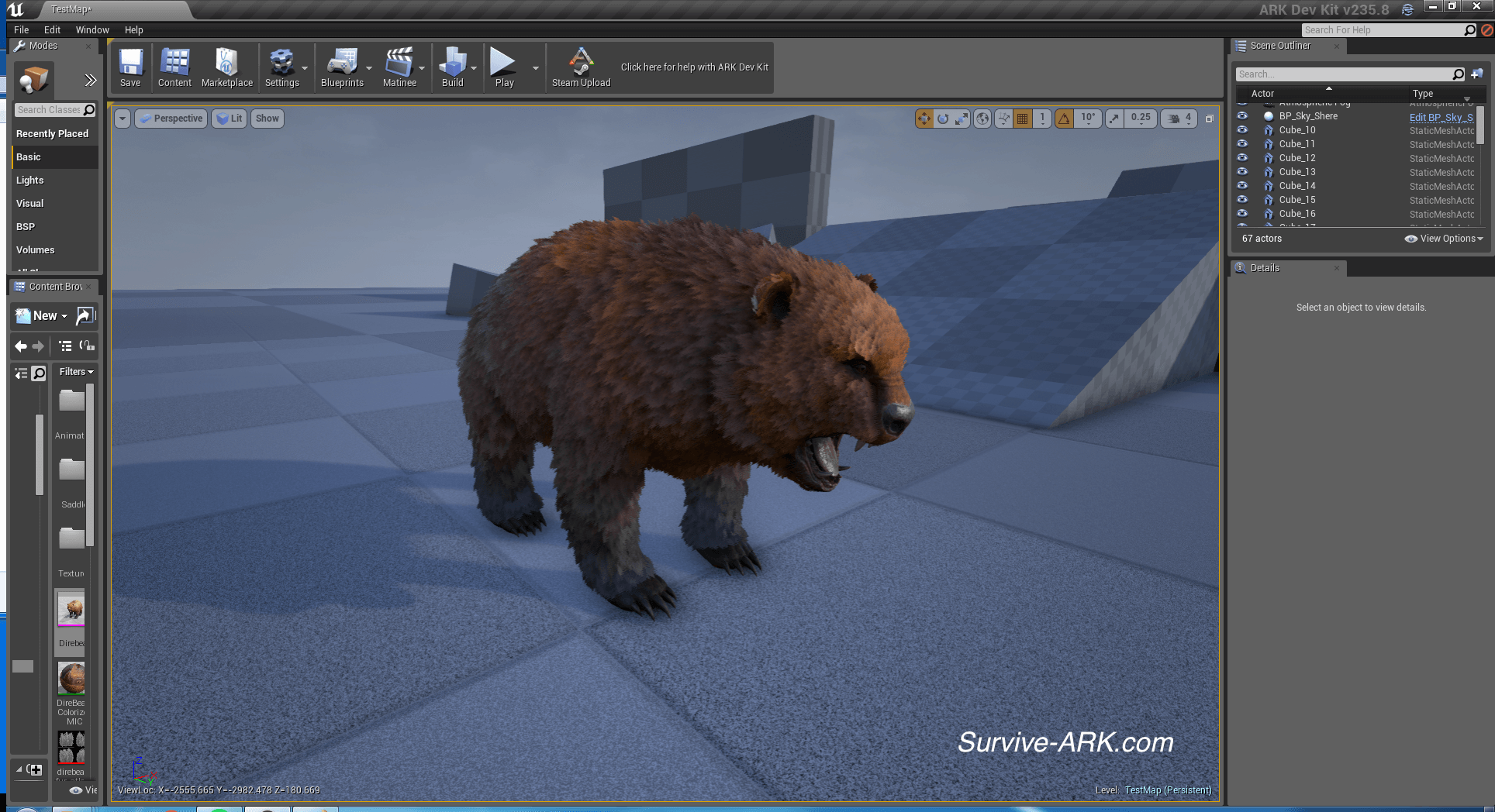 100 ark blueprint list colors steam community guide creating mods ark blueprint list colors devkit preview colored direbear eel and more survive ark malvernweather Gallery