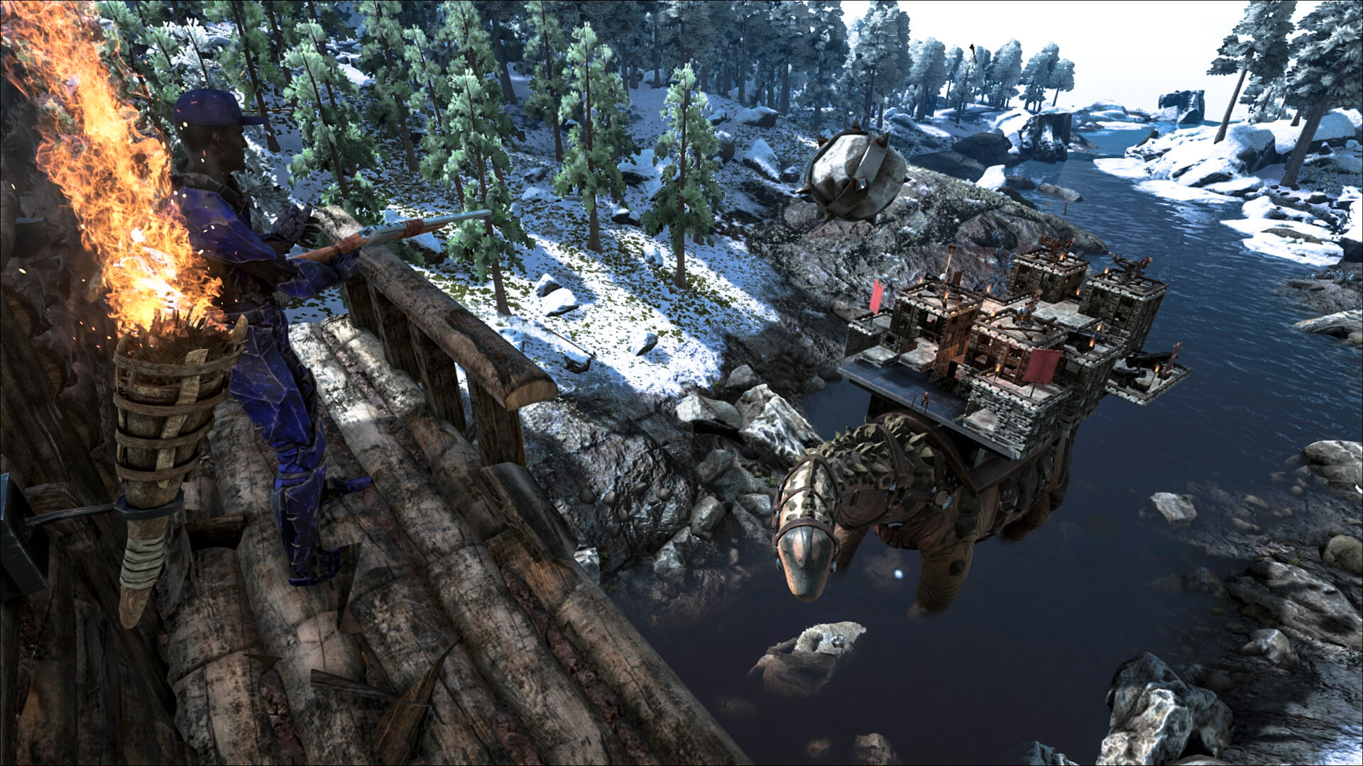 Ark e3 revelations survive ark due to its size you will even be able to crush creatures and buildings that stand in its path malvernweather Choice Image