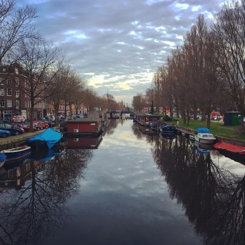 Intro to Amsterdam canals.