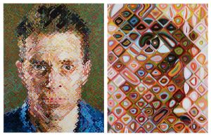 James, by Chuck Close