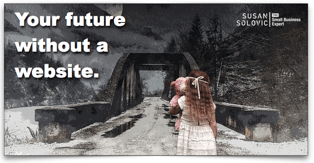 future without a website