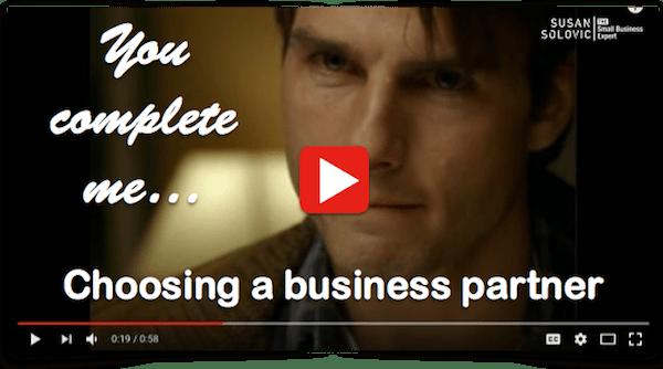 choosing a business partner
