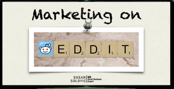 marketing on reddit