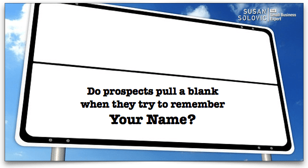 how to establish name recognition