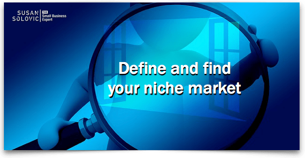 Understand the niche market definition