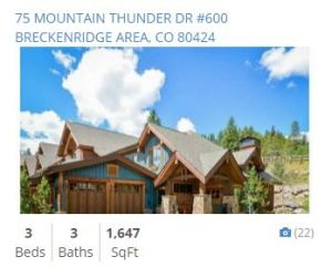 mountain thunder lodge ski in ski out townhomes for sale