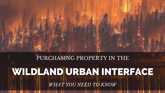 Real Estate and the Wildland Urban Interface