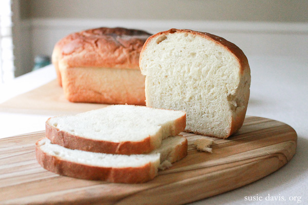 Amish White Bread Recipe — Susie Davis