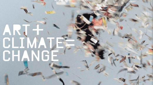 ART+CLIMATE = CHANGE THE BOOK