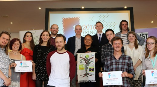 Winner Announced of the Edinburgh Fringe Sustainable Practice Award 2016!
