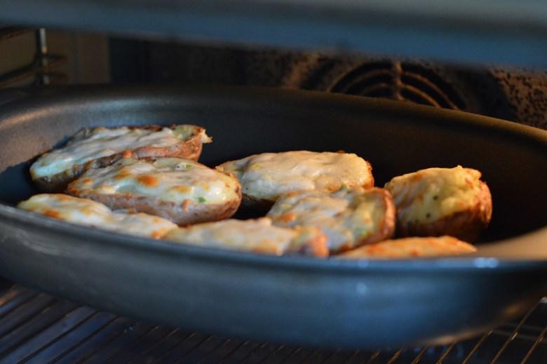 Cheesy Baked Potatoes5