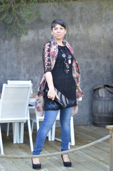 Dress with jeans13