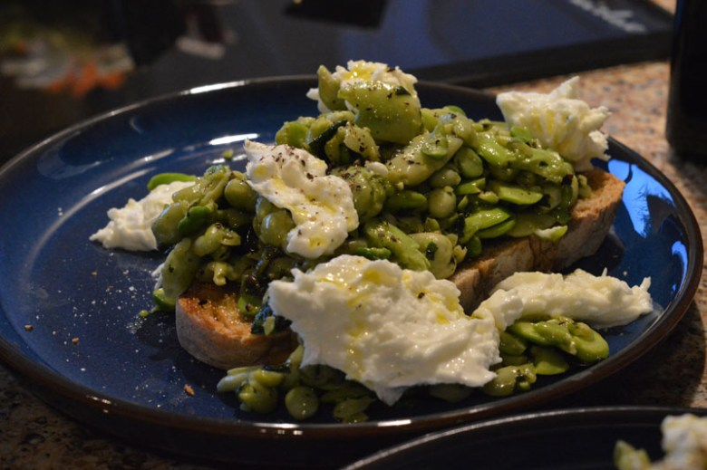 Pea and broad beans 2