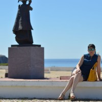 Blue outfit in Sagres18