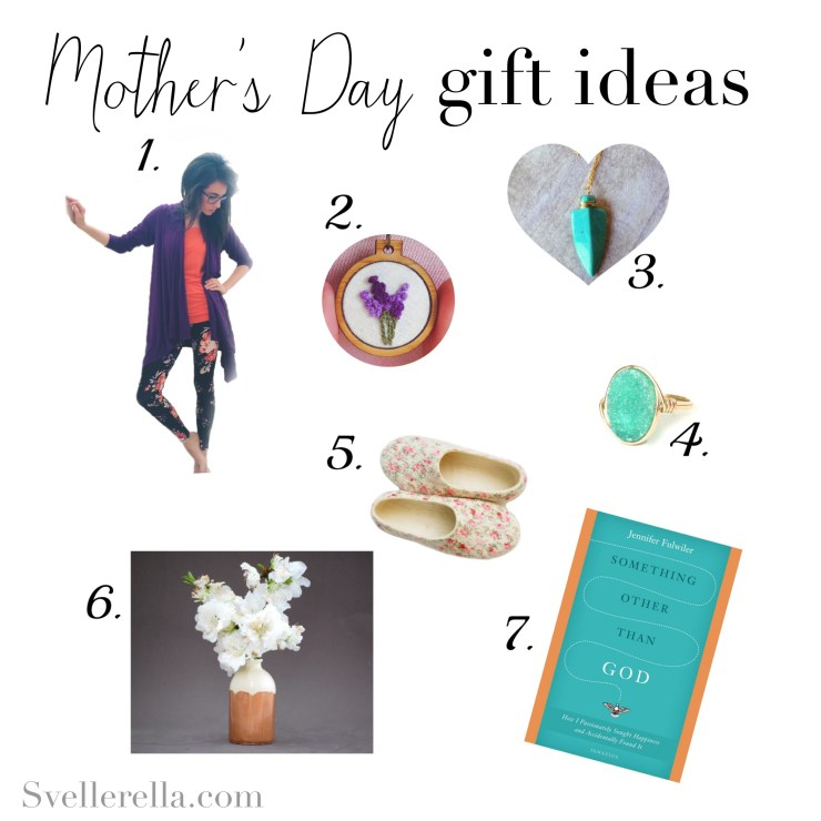 mothers day list, property of C. Svellinger