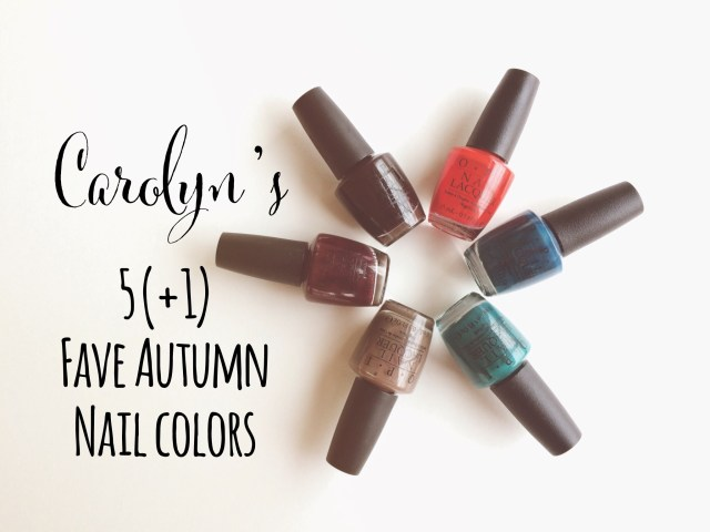 nail colors, property of carolyn svellinger