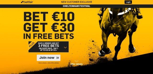 Betfair promocija - utrke konja