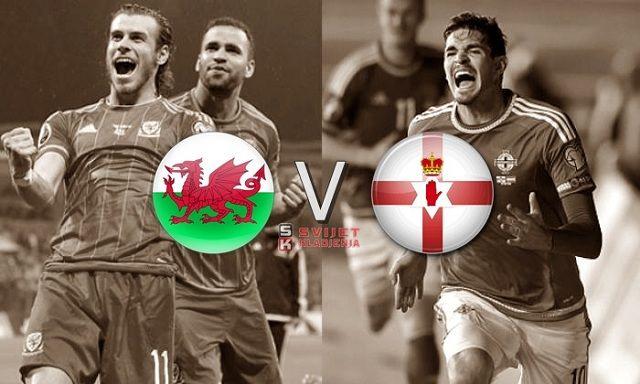 Vels v Sjeverna Irska: Britanska bitka za četvrtfinale