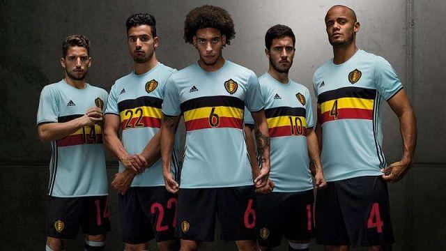 Gostujući dres reprezentacije Belgije