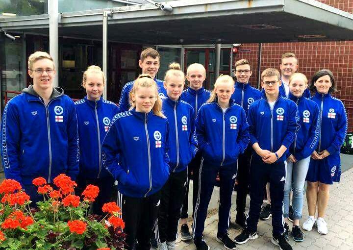 Felagsmynd Føroyar til NMU 2016 í Tampere