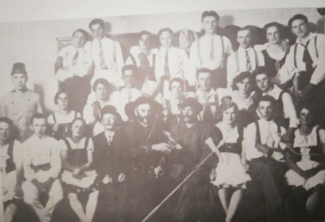 Vinobraní v Grándorfu 1928