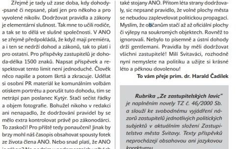 Předvolební boj začal i v koalici, Čadílek z ODS napadá Kytýra z ANO. U starosty Šimka mu stejné jednání nevadilo.